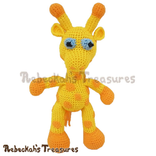 Otis Giraffe Crochet Pattern PDF $5.75 by Rebeckah's Treasures! Coming Soon - Learn More: http://www.rebeckahstreasures.com/blog/working-on-a-crochet-giraffe #crochet #giraffe #amigurumi