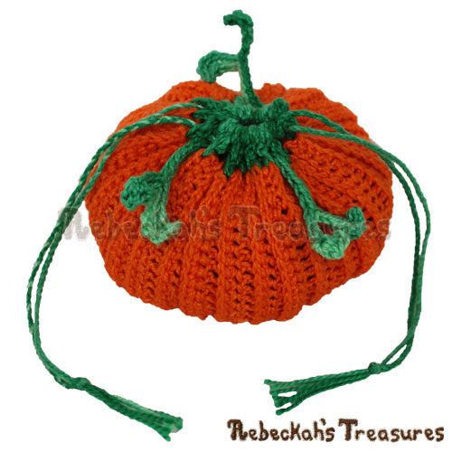 Pumpkin Treats Coin Purse Crochet Pattern - $3.75 Digital PDF Download by Rebeckah's Treasures! Grab your copy today here: https://goo.gl/i2xmHs #crochet #pattern #pumpkin #purse